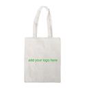 Customized 6oz Cotton Canvas Tote Bag, 14.5