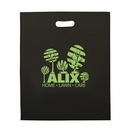 Custom Non-Woven Die Cut Tote bag (1 Color Screen Print) (15
