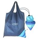 Custom Fish Shaped Foldable Sac Bag, 190T Polyester, 15