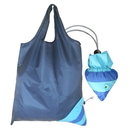 Blank Fish Shaped Foldable Sac Bag, 190T Polyester, 15