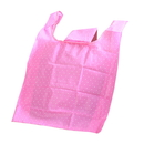 190T Polyester Dots Pattern Reusable Foldable Shopping Totes, 14
