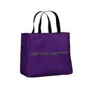 Custom 600D Polyester Shopping Tote with One Interior Pocket, 14