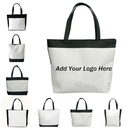 Custom Reusable Tote Bags, Polyester Gift Tote Bags, Party Favors, 17