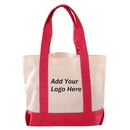 Custom Canvas Deluxe Tote Bag, 17.25