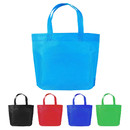 Opromo Non Woven Party Gift Favor Tote Bag, Rainbow Colors Treat Bags Shopping Grocery Tote for School, Birthday, Snacks, Toys, 3 Sizes 8 Colors