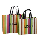 Custom Laminated Non-woven Shopping Tote Bag Reusable Grocery Bag(2 Sizes)