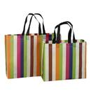 Opromo Laminated Non-woven Shopping Tote Bag Reusable Grocery Bag(2 Sizes)