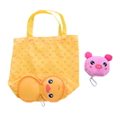 Cuteness Animal Shaped Reusable Foldable Tote Bag with Hook, Travel Shopping Bag