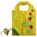 Opromo 10PCS Pineapple Shape Folding Eco Shopping Bag with 2 Handles, Travel Shopping Bag