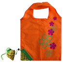 1 PC Pineapple Shape Folding Eco Shopping Bag with 2 Handles, Travel Shopping Bag (Mix Colors)