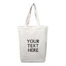 Custom Washable Tote Bag for Crafts Promotional Canvas Grocery Bag Shopping Bag