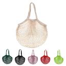 Aspire Cotton Net Shopping String Bag with Long Handles for Fruit Vegetable Storage Beach