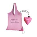 Opromo Custom Heart Morph Sac Polyester Shopping Tote Bag
