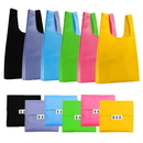 Opromo Reusable Shopping Bag Grocery Bag Set, Eco-friendly Durable Foldable Grocery Tote Folding Bag