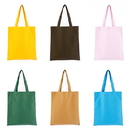 Opromo 12oz Durable Heavyweight Canvas Reusable Grocery Tote Bag, for DIY, 16 Colors, 14