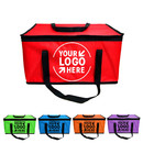 Custom Large Reusable Grocery Tote Bags, Reinforced Handle Shopping Box Bags. Foldable, Collapsible, Durable & Eco Friendly, 6 Colors, 12 Sizes