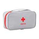 Opromo First Aid Bag Portable Medical Bag Travel Rescue Bag First Responder Storage Pill Drug Container Mini Kit Empty Pouch for Car Camping Travel Office Home Outdoor