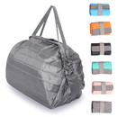 Opromo Reusable Grocery Bags Lightweight Foldable Shopping Bag Durable Waterproof Nylon tote bag Roll-up for Stroge