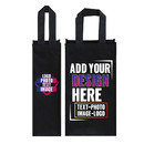 Custom Non Woven Wine Bottle Tote Bag Champagne Gift Bag with Handle