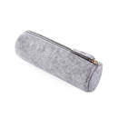 Blank Gray Felt Pen Pencil Case Stationery Pouch Bag Case Cosmetic Bags, 7-7/8