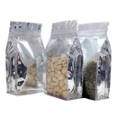 16 oz Side Gusseted Bag - Clear/ Foil, 5.5