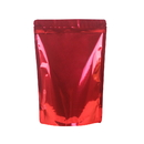 (Price/50 PCS) Foil Lined Stand Up Pouch with Zipper, 8 OZ to 12 OZ, FDA Compliant