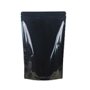 Custom Foil Lined Stand Up Pouch With Zipper, PET Black Sealing Candy, Coffee Food Bags, 4.7 Mil - 1 Color Printing