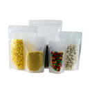 Custom Frosted Stand Up Pouches, 4.0 mil, FDA Compliant - Full Color Printing