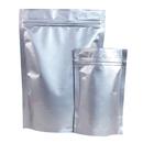 50 PCS 2 lb Zip Lock Stand Up Bags- Silver, FDA Compliant