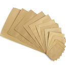 100 PCS 0.5 oz Kraft Foil Flat Pouch, 2 3/4