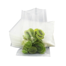 100 PCS Clear 3-Side Seal Flat Pouch, FDA Compliant, (0.125 oz to 18 oz)