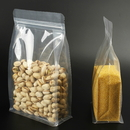 50 PCS Aspire Side Gusseted Bag, Clear Poly Pouches, ( 8 OZ to 2 LB ) , FDA Compliant