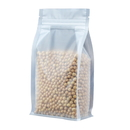 50 PCS Aspire Side Gusseted Bag - Frosted Pouches, (8 OZ to 2 LB), FDA Compliant