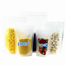 Custom Frosted Stand Up Pouches, 4.0 mil, FDA Compliant - One Color Printing