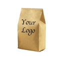 Custom Kraft Side Gusset Bag, (1 OZ to 16 OZ), FDA Compliant