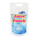 Custom Plastic Drink Bag w/Handle, 3 Mil, ( 8 OZ, 16 Oz, 25 OZ, 34 OZ )