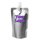 Custom Aluminum Foil Spouted Stand Up Pouch for Fluid Packaging
