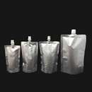 Custom 5 Fluid Ounces Aluminum Foil Spouted Stand Up Pouch for Fluid Packaging