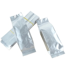 100 PCS Wholesale Silver Foil Flat Bottom Gusset Bag, Heat Sealing Packaging Bag for Coffee & Tea(2 - 16 OZ), 3.5 Mil