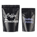 Custom Coffee Bags with Degassing Valve and Ziplock