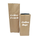 Custom Kraft Side Gusseted Bags, Coffee Bags with Degassing Valve