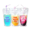 Custom Juice Pouches, Personalized Adult Juice Pouch, DIY Beverage Pouch 8 oz to 34 oz