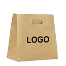 Custom Aspire Extra Large Kraft Takeaway Bags, Restaurant Snack, Fast Food and Lunch Boxes