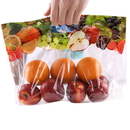 (Price/ 50 PCS) Fruit Packaging Bag, Grape Pouches with Holes, 4 mil
