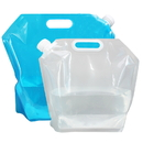 (Price/ 6 PCS) Collapsible Water Tank Water Container Water Carrier, Refillable Water Bag wth Spout, 3 L, 5 L, 10 L, 20 L