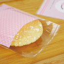 (Price/200 PCS) Lovely Self Adhesive Cellophane Bag ,Good for Cookie, Bakery, Candy, Biscuit