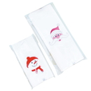 (Price/50 PCS) Christmas Giant Bakery Bag, Good for Cookie, Bakery, Candy, Biscuit, Christmas Gift