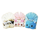 (Price/50 PCS) Aspire Happy Kitty/ Cow/ Piggy Bakery Bags with Pet Tags, Good for Candy, Biscuit