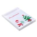 (Price/100 PCS) Aspire Cookies Bags, Christmas Treat Bags, Self Adhesive Cellophane Bag, 4