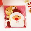 (Price/50 PCS) Aspire Christmas Cellophane Bag, Treat Bags, Self Adhesive Cookies Bags, 4